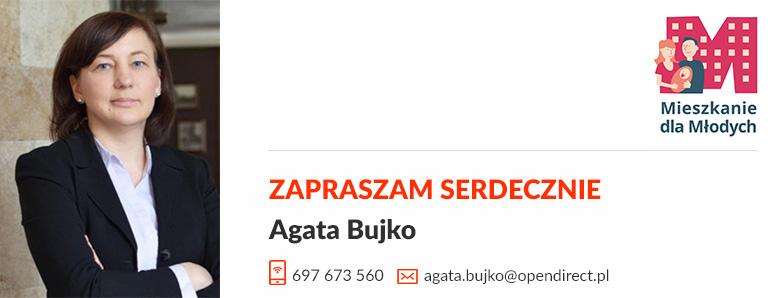 Agata Bujko - pomoc w finansowaniu MDM